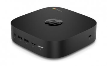 HP's Chromebox G2 features the latest Intel processor and up to 16 GB of RAM
