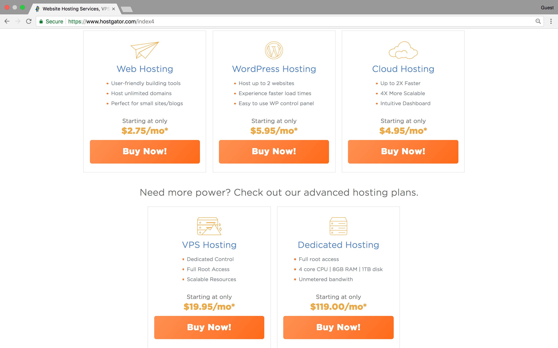 hostgator.com offer