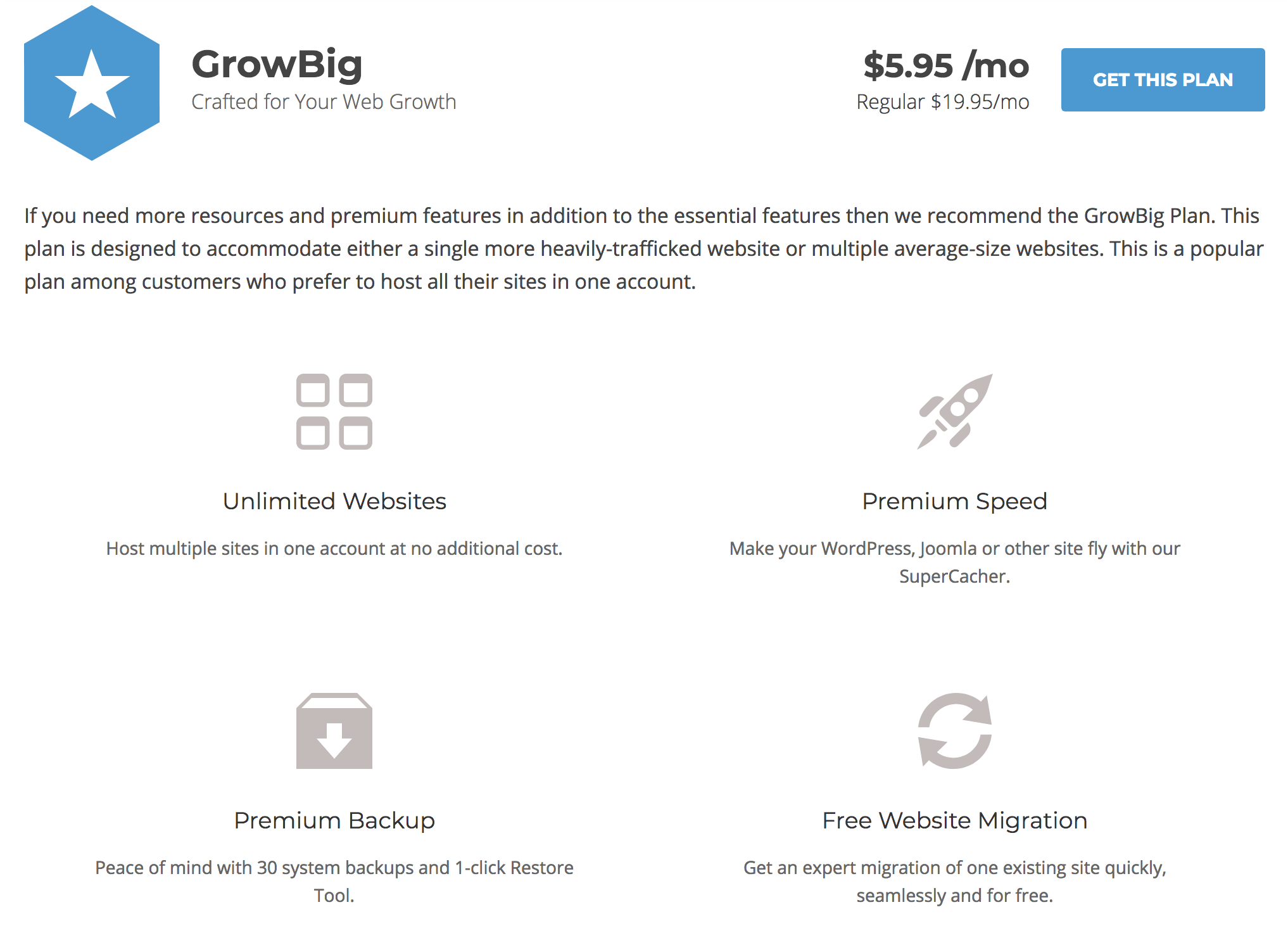 Siteground Hosting Offer