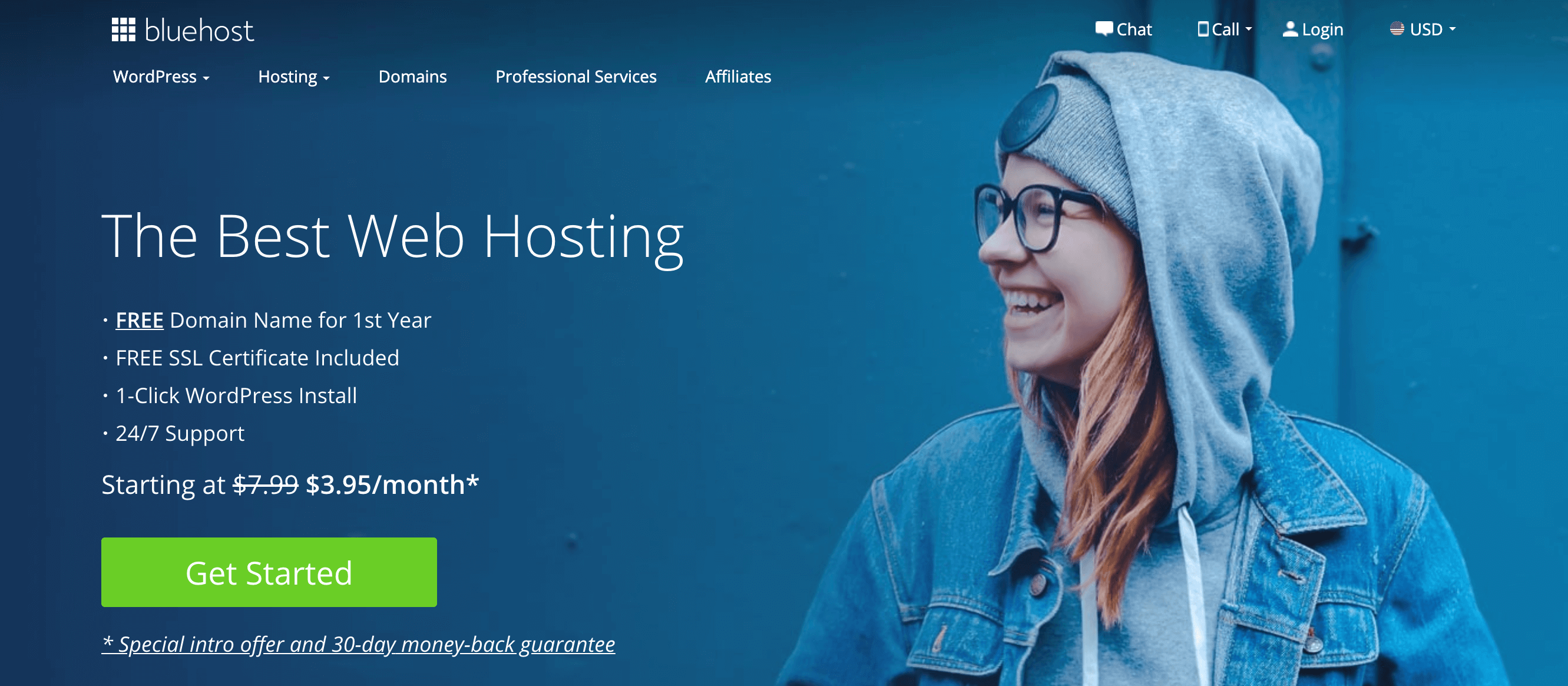 Bluehost Review Banner