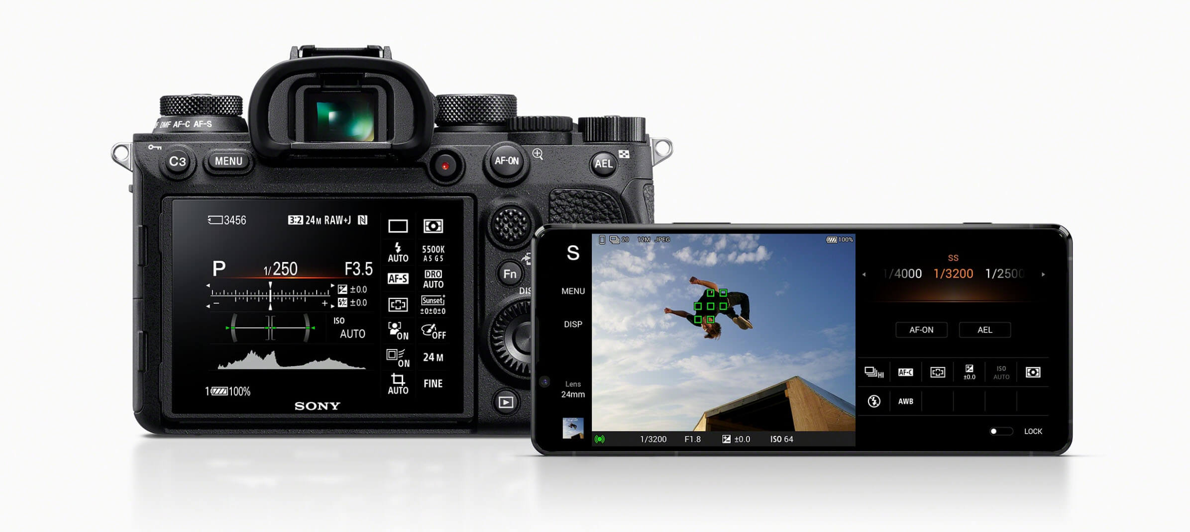 Xperia 1 II Camera Interface