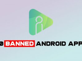 Banned Android Apps